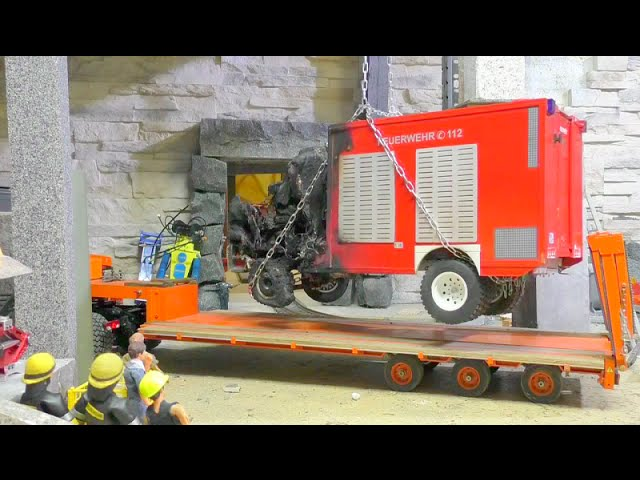 HEAVY ACCIDENT – HEAVY LIPO EXPLOSION- RC FIRE TRUCK!