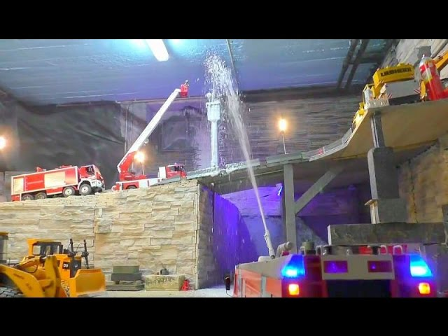 RC FIRE TRUCK – AIRPORT FIRE TRUCK – MUST SEE!!!