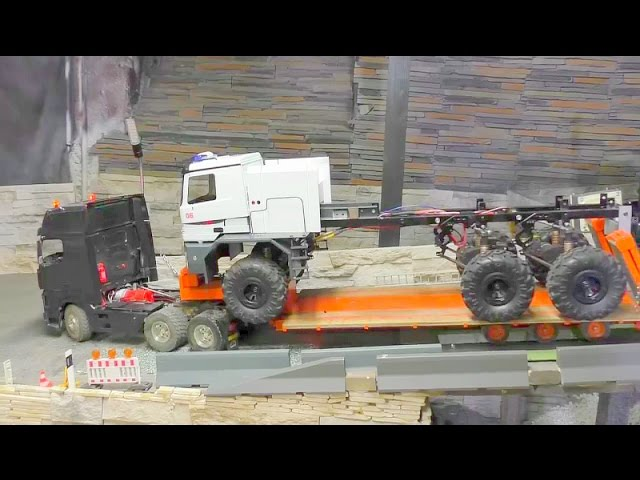 RC TRANSPORT –  THE BIGGEST RC FIRE TRUCK IN THE WORLD –  THE BUFFALO!!!