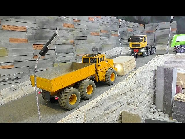 RC MASCHINEN |  STRONG WORK AT THE RC CONSTRUCTION SITE |