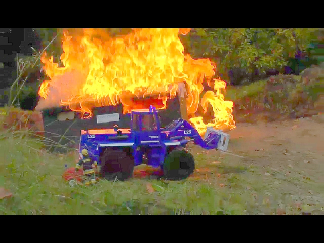 MEGLIO DEL CAMION DEI POMPIERI RC! FIRE EQUIPMENT! HEAVY FIRE! BEST FIRE TRUCKS! RC LIVE ACTION youtube-editor