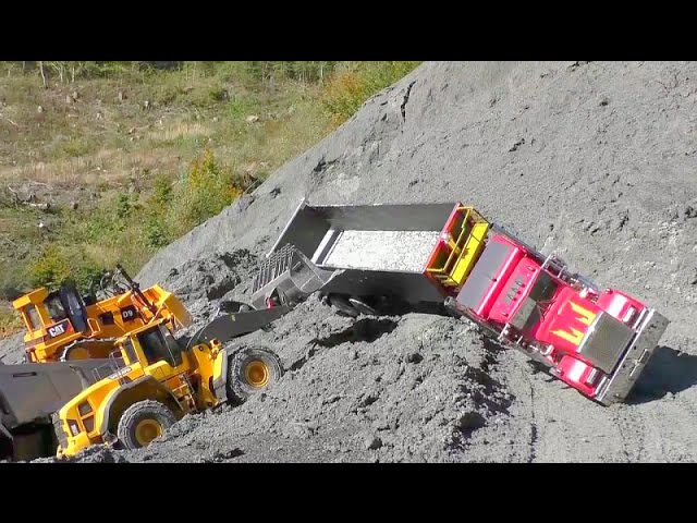 RC BEST OF🔥BEST OF RC MACHINES, Digger, LOADER, CATERPILLAR AND KOMATSU🔥 RC LIVE ACTION
