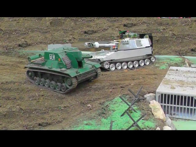 RC TANK🔥RC PANZER🔥RC MILITARY AND MORE🔥RC LIVE ACTION!  messe bundeswehr umbau Germany 2017