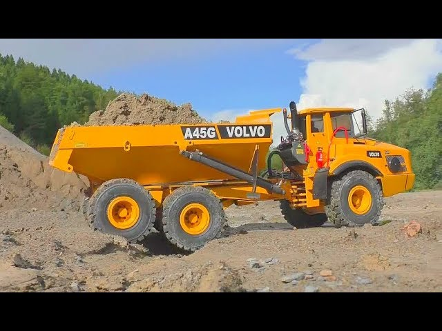 RC BEST CONSTRUCTION ZONE! COOL RC MACHINES AT THE BIGGEST CONSTRUCTIONSITE! RC LIVE ACTION