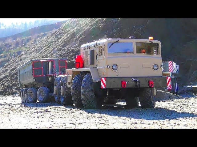 Awesome RC Vehicles! Heavy Rescue Service! Fantastic Machines In Motion