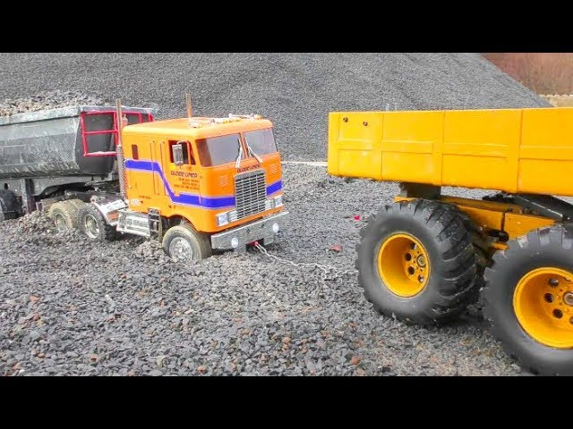 RC VOLVO L250G LOAD BIG STONE BLOCKS! COOL RC ACTION WITH HEAVY VEHICLES ! NEVJEROJATNA RC STROJEVI