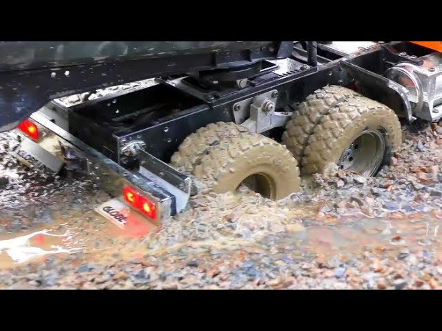 Strong RC Volvo Dump Truck A45G In Action! Big RC Vehicles Work So Hard! Biggest RC Construction!