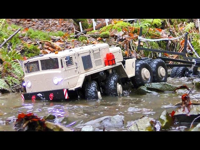 MUDRUNNER RC! INCREDIBLE RC ACTION WIT THE MAZ 537G! STRONG RC URAL 4320! RC VEHICLES IN THE MUD