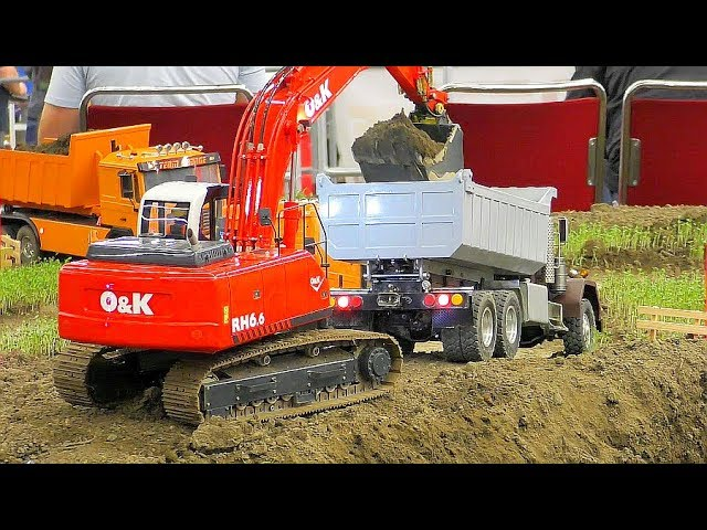 RC KING HAULER 6×6 ! COOL RC LIVE ACTION VEHICLES AT WORK! NICE RC !