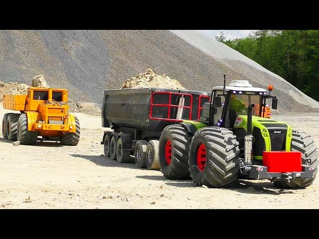 RC CRASH AND COOL TRUCK RESCUE! HEAVY R/C VEHICLES WORK AT THE QUICKSAND!