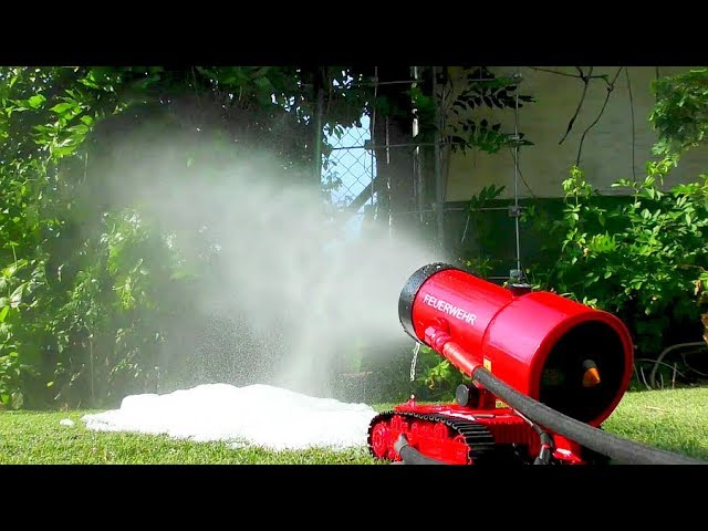 RC EQUIPMENT EXTREME! RC STUFF FOR FIREFIGTHERS! RC LUF-I 120 IN AZIONE! WATER TEST