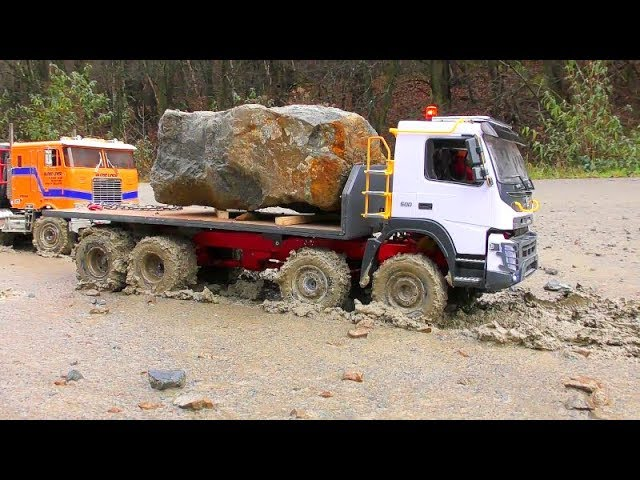 RC A45G VOLVO DUMP TRUCK! COOL AND STRONG VOLVO VEHICLES! L250G AND FMX 8X8 AT WORK