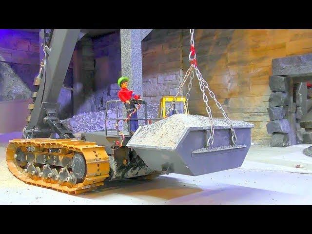 RC CARRARA CONSTRUCTION SITE PART2! TIPPER, DIGGER, LOADER IN ACTION!  Volvo, Liebherr & MORE