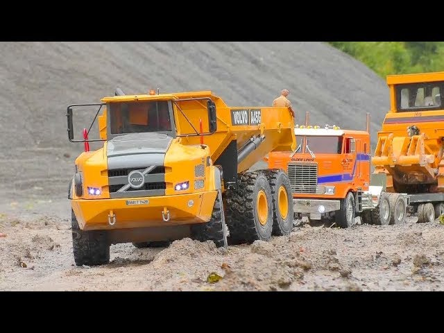 Cool RC Tucks and Machines in Motion! RC Construction Machinery in Action!