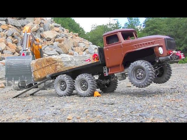 AMAZING RC Vehicles in Action! Cool RC Machinery! Heavy RC Machines in Motion!