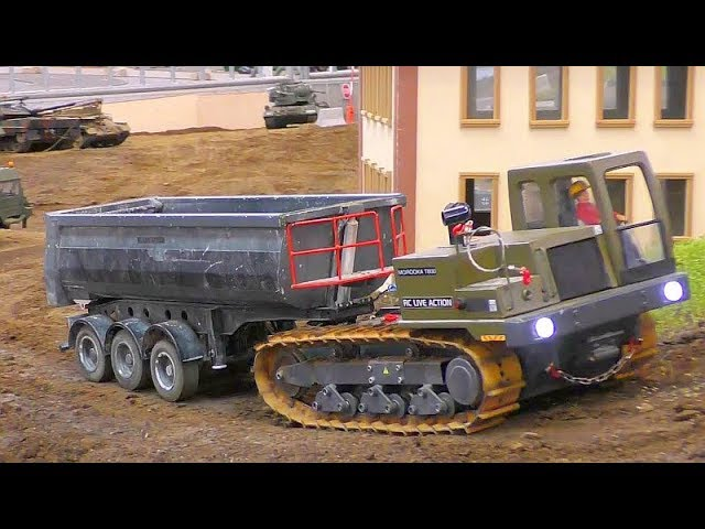 Cool RC Tanks! Incredible RC Toys! Fantastic Trucks! Rc Fair Friedrichshafen 2018