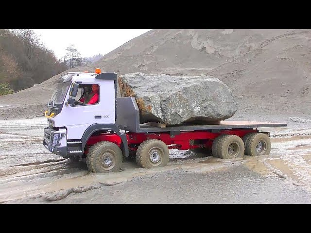 RC Volvo FMX 8×8 extreme! Incredible RC Vehicles work in the mud! Best rc toys