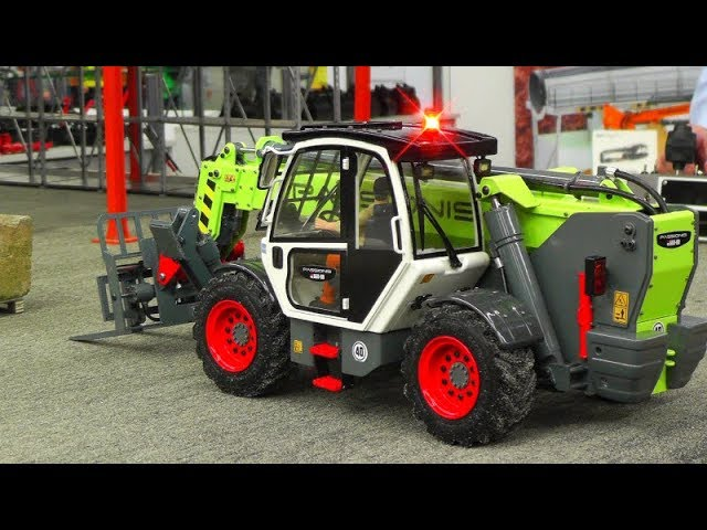 RC LOADER PASSIONIS 660-80! RC FORKLIFT IN ACTION! NEW RC VEHICLES 2019