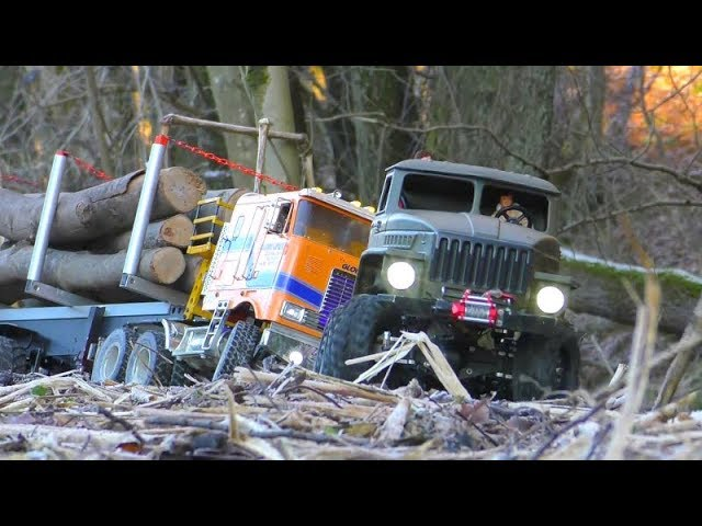 RC VEHICLES 2019 IN ACTION! INCREDIBLE MAZ537 AND MAN KAT! В ДЕЙСТВИИ! COOL RC