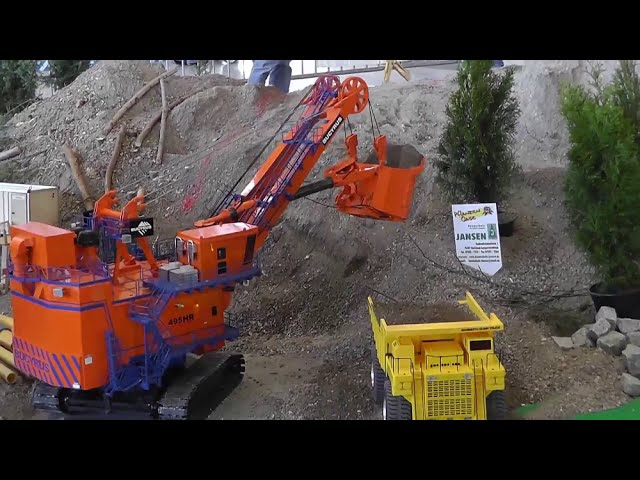 RC ROADWORKER WORK ON THE BIG RC CONSTRUCTION