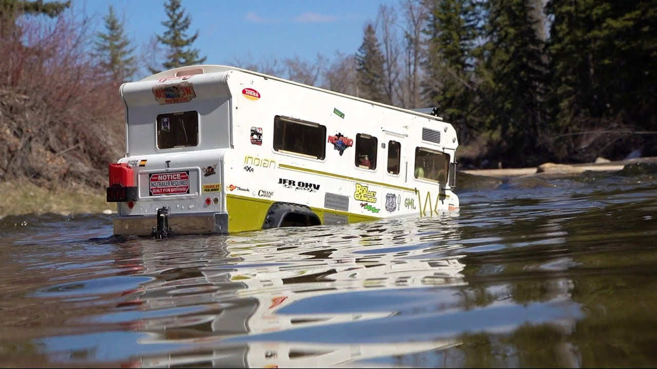 "Family Camper Goes too Deep – ""Indian"" Winnebago Tonka Truck Conversion 