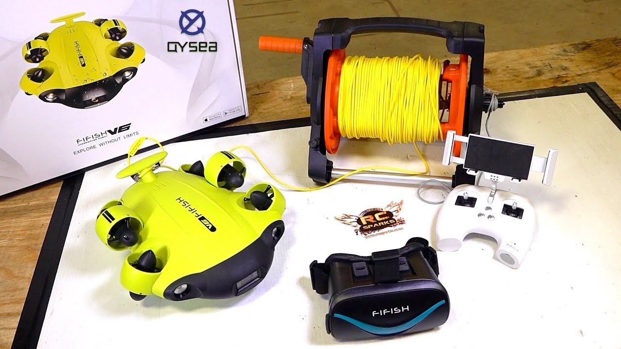 Unboxing a TREASURE HUNTER! QYSEA FiFish V6 ROBOTIC 4K CAMERA SUB | AVVENTURE RC