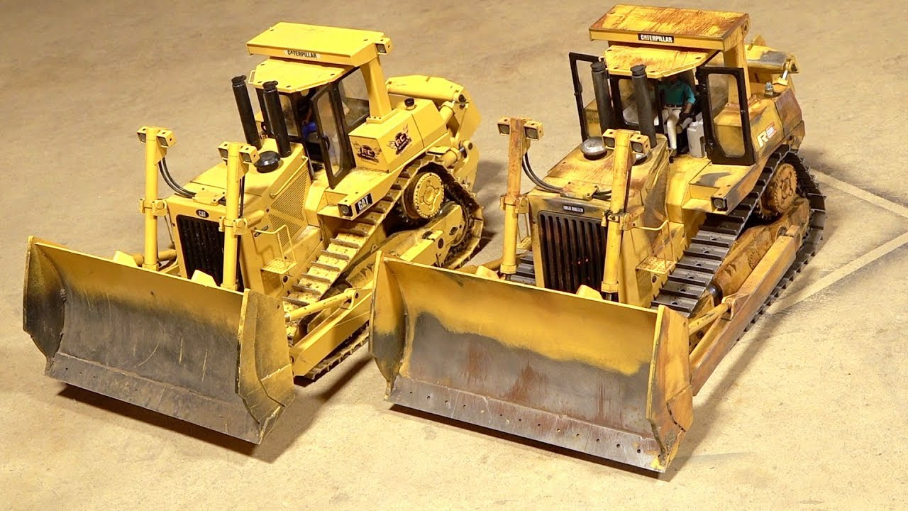 WHICH DOZER is OLDER? BESSIE gets NEW TRACKS! | RC ADVENTURES