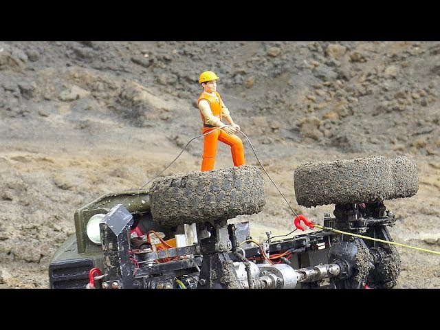 TWO HEAVY RC CRASHES! MA3 537 IN ACTION! MC 6 SAVE THE URAL 4320! FANTASTIC RC MAZ 537