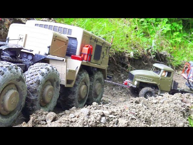 RC MUDDI DAY! RC RAIN DAY! RC URAL 4320 ÎN ACŢIUNE! MA3 537 G HELP HIS FRIENDS! RC VEHICLES AT WORK