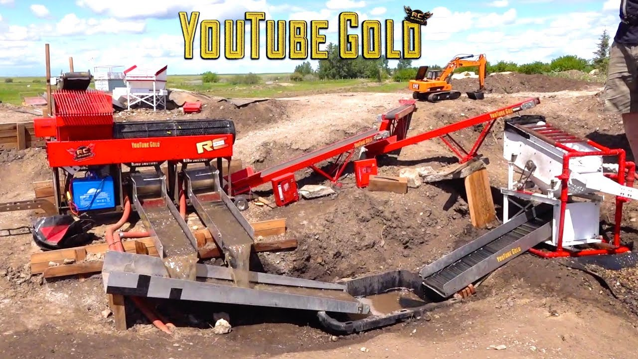 YouTube GOLD – IS THIS A JOKE?  (s2 e12) Miniature Gold Mining  | RC ADVENTURES