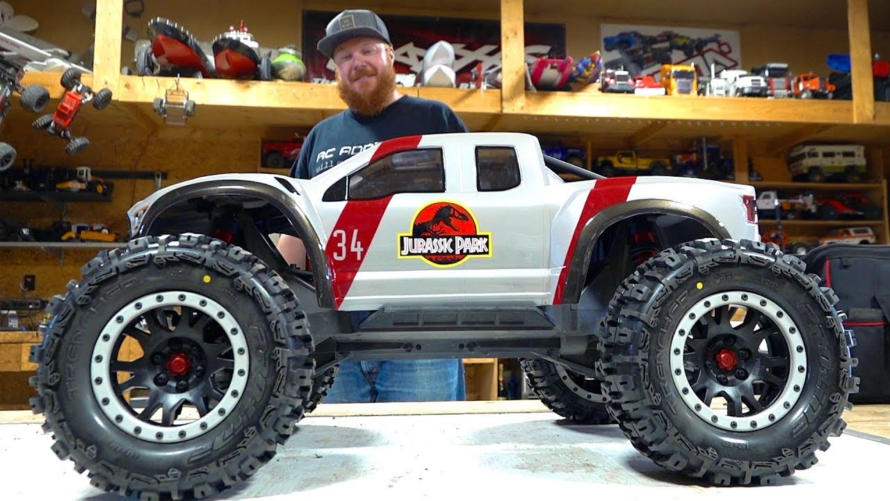 JURASSIC PARTS UPGRADE : TRAXXAS XMAXX CASTLE 2028 780KV BRUSHLESS MT | RC ADVENTURES