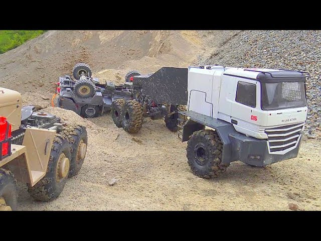 HEAVY RC ADVENTURE 2019, Buffalo 6×6, MAZ 537 MAMMOTH BC8, CROSS RC MC6, MAN KAT 1 IN ACTION