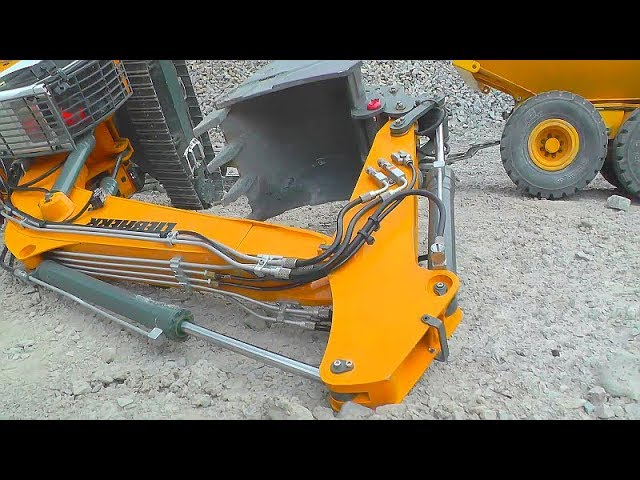 HEAVY EXCAVATOR 970 FAIL! RC DIGGER ACCIDEN! COOL EXCAVATOR RESCUE! RC CRASH 2019