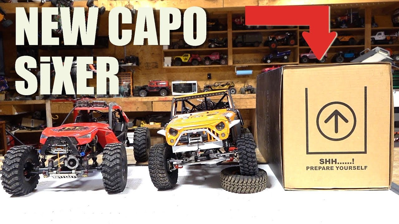 NEUE VERSION! UNBOXING the CAPO SiXER 1/6 Scale SAMURAI 4×4 TRAIL TRUCK Build Kit | RC ADVENTURES