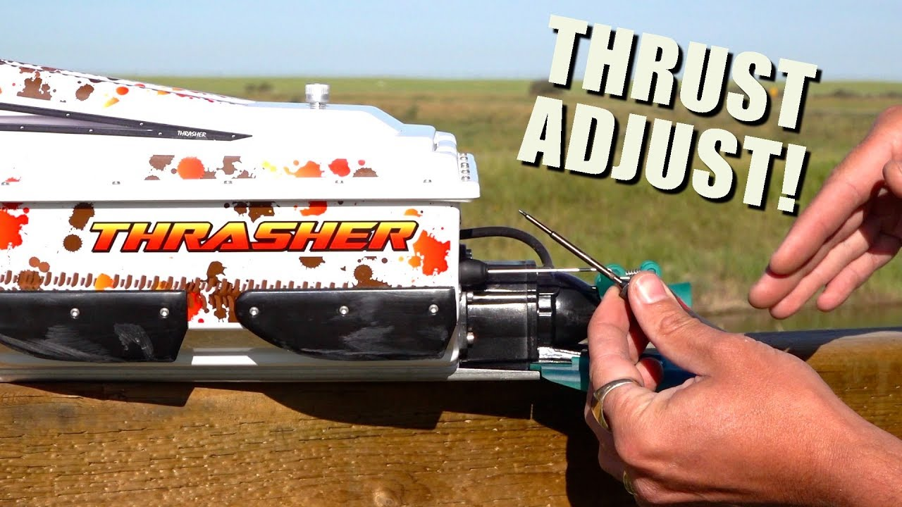 THRASHER JET BOAT – NEW THRUST VECTORING OPTION! | RC EVENTYR