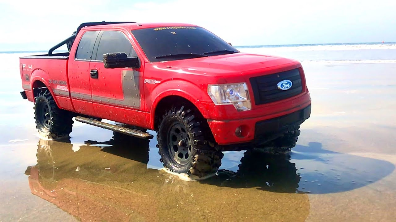 RC ADVENTURES – BEACH DRIViNG a FORD F150 FX4 PiCKUP TRUCK in MEXICO! #TOYRealism
