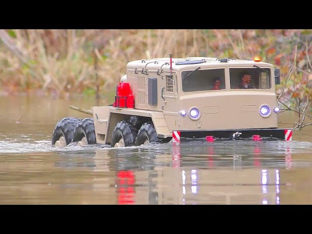 Маз 537 RC AT THE BEST ACTION SCENES! COOL CROSS RC MODELS IN ACTION! MC6 AND HC6 IN MOTION