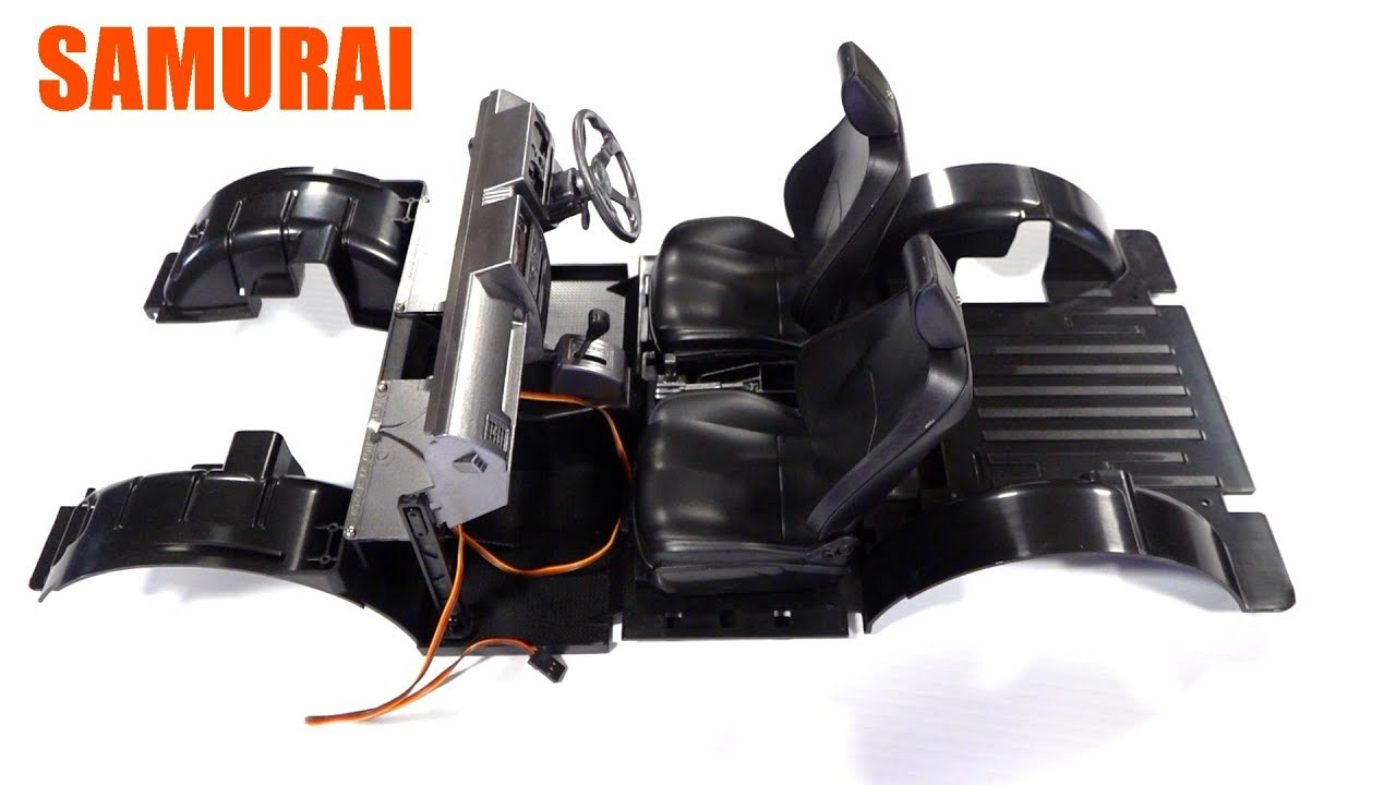 SERVO-CONTROLLED SAMURAI INTERIOR! CAPO SiXER 1 KiT – 1/6 Scale BV3 | RC ADVENTURES