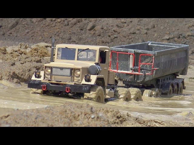 RC TRUCKS IN MUD! BEST RC CONSTRUCTION VEHICLES! AMAZING RC TRUCKS! RC SCALE TRUCKS! WORLD OF RC