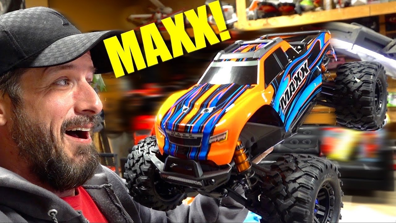 NEW RELEASE – TRAXXAS MAXX 1/10 SCALE TRUCK : UNBOXiNG & FiRST THOUGHTS! | RC ADVENTURES