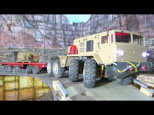 MAZ 537 WORK HARD AT THE STONE MINE! WORLD OF RC! BEST RC 2019! sTRONG WHEEL LOADER IN ACTION