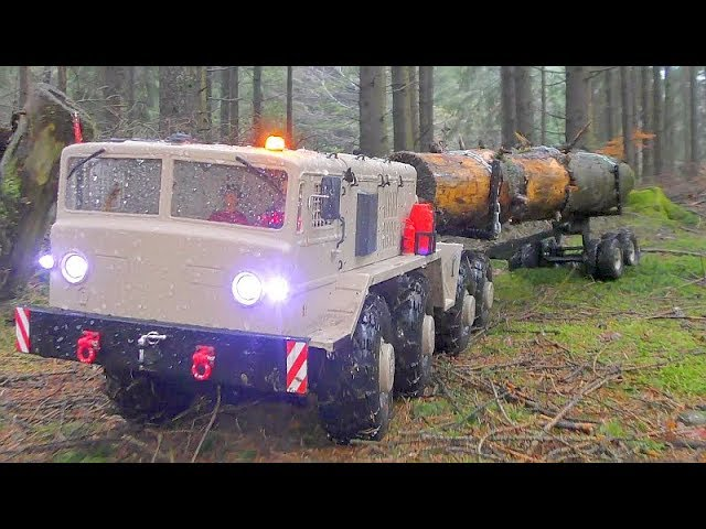 RC TRUCKS WORK IN THE WOODS! STRONG HC6! HEAVY MAZ 537G IN ACTION! ΚΑΛΎΤΕΡΟ RC ΣΤΗ ΛΆΣΠΗ! ΚΑΛΎΤΕΡΟ RC 2019