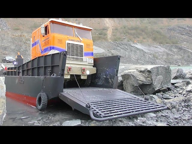RC SPECIAL VEHICLES! BC8 MAMMOTH EXTREME! LANDINGCRAFT LCM 3 TRANSPORTATION! TRUCK TRANSFER