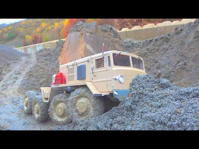 Maz 537 RC EXTREME! HEAVY TRIAL DRIVE WITH THE FANTASTIC MA3 537G! RC SPECIAL VEHICLES !