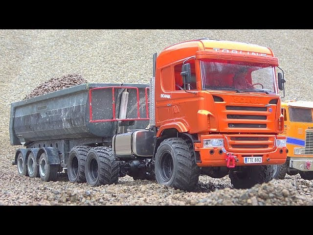 RC AGRAR TRUCK 6X6! HEAVY NEW RC MODEL SCANIA 6X6! RC SCANIA 6X6 WORK EXTREME! NEW RC 2020