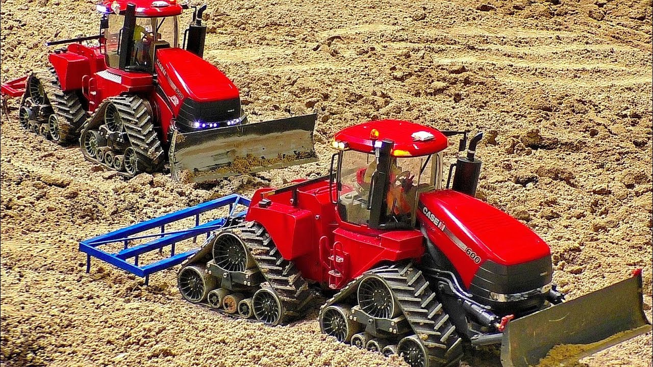 MONSTER RC TRACTOR IN ACTION CHASE IH 600 QUADTRUC AMAZINGLY DETAILED MODEL MACHINE IN MOTION