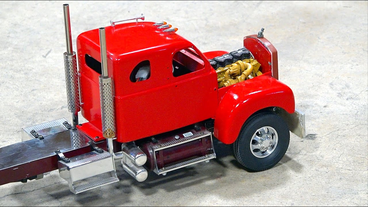 RC ADVENTURES – Classic 1960's B Series MACK Semi Truck Gets an UPGRADE!