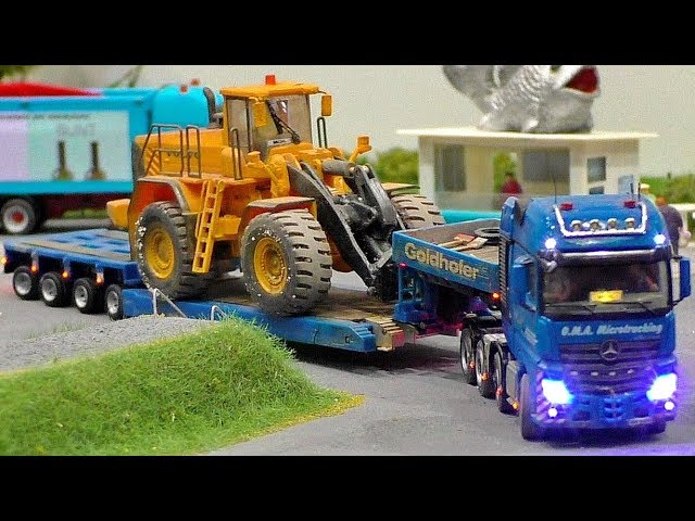 MINIATURE MICRO RC MODEL TRUCKS IN SCALE 1:87 AMAZING FUNCTIONALITY MODELS IN MOTION
