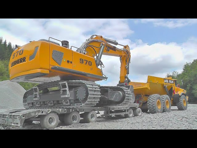 BC8 猛禽极端! REAL WORK AT THE HUGE CONSTRUCTION ZONE! 最佳 RC 在行动