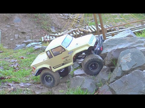 COOL RC TRIAL 2020! FANTASTIC MAN 6X6! BARAGE JEEP 4X4 IN ACTION!AMAZING TRIAL PACOURE